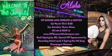 SIP. SOCIALIZE. SHARE. SHINE! VIP QUEENS WHO CONQUER ELITE NETWORKING EVENT tickets