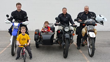 Riders for Striders Charity Adventure Motorcycle Ride 2020