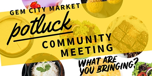 Gem City Market March Community Meeting