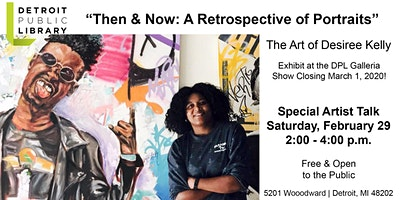 Desiree Kelly:  Artist Talk & Exhibit Closing