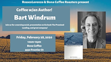 Coffee and Conversation with End-of-Life Author Bart Windrum