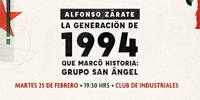 Presentación del libro de Alfonso Zárate