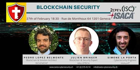 Swiss CyberSecurity: Blockchain Security tickets