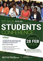 PROCUREMENT AND SUPPLY CHAIN STUDENTS CONFERENCE_Riftvalley Region