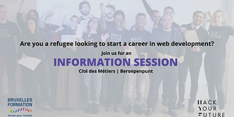 HackYourFuture Belgium: Information Session tickets