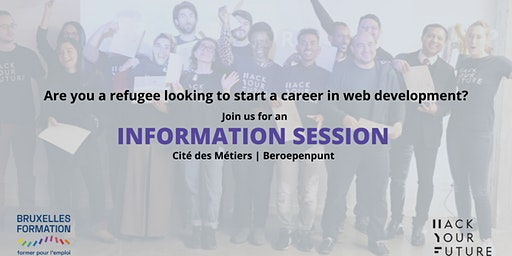 HackYourFuture Belgium: Information Session