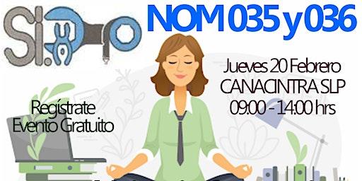 NOM 035 Y 036