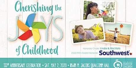 Cherishing the Joys of Childhood - San Diego Center for Children's 133rd Anniversary Celebration tickets