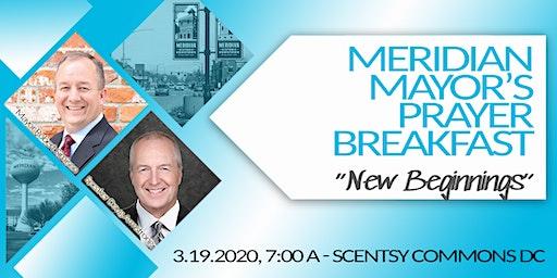 51st  Annual Meridian Mayor's Prayer Breakfast