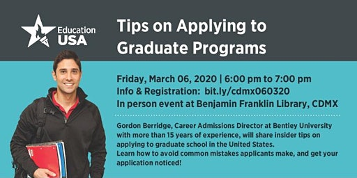 Tips on Applying to Graduate Programs