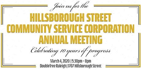 2020 Live It Up! Hillsborough Street Annual Meeting & 10 Year Anniversary tickets
