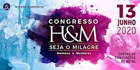 Congresso H&M 2020 - Seja o Milagre ingressos