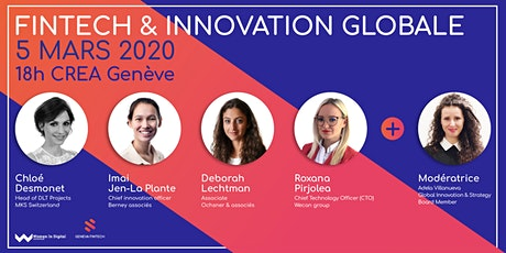 Fintech & Innovation globale  tickets