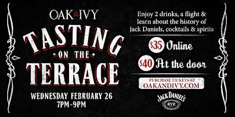 Tasting on The Terrace - Jack Daniels tickets