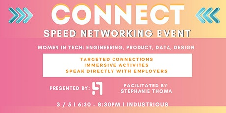 Women in Tech Speed Networking tickets