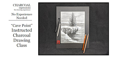 """Charcoal Drawing Event """"Cave Point"""" in Reedsburg tickets"""