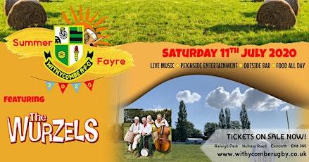 WRFC Summer Fayre - Featuring The Wurzels tickets
