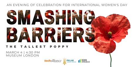 Smashing Barriers |The Tallest Poppy tickets