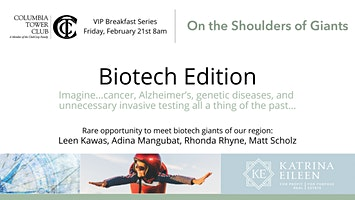 Shoulders of Giants    Biotech Edition