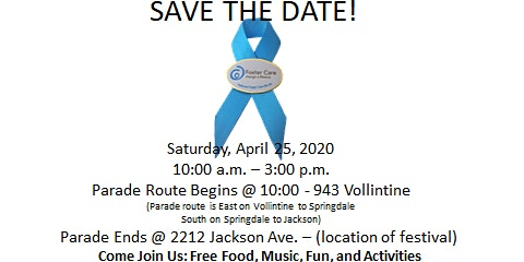 Foster Care Awareness Parade and Community Festival