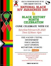 National Black HIV Awareness/Black History Month Celebration tickets