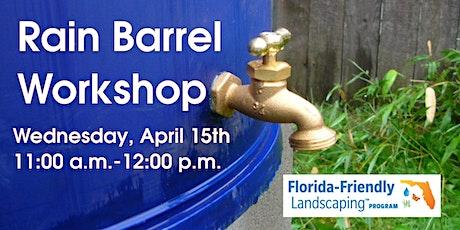 Rain Barrel Workshop tickets