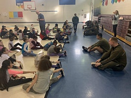 Quantico Single Marine Program (SMP) Volunteer Transportation Support for PE with Marines at Spotswood Elementary School
