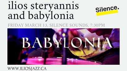 Silence Presents: Ilios Steryannis tickets