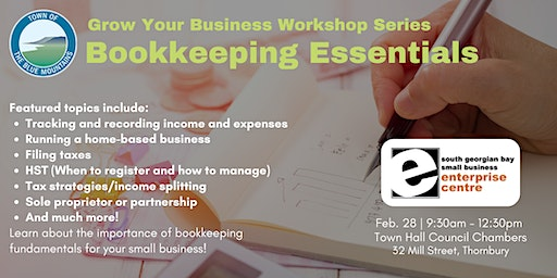 Bookkeeping Essentials for Small Business - Blue Mountains