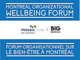 Forum sur le Bien-être Organisationnel - Organizational Wellbeing Forum
