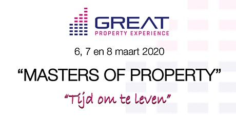 MASTERS OF PROPERTY: 3 daagse vastgoed training tickets