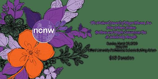 NCNW, NOS Bethune and Height Cornerstone Tea & Scholarship Benefit