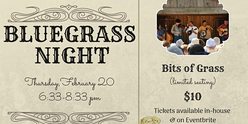 Bluegrass Night with Bits of Grass