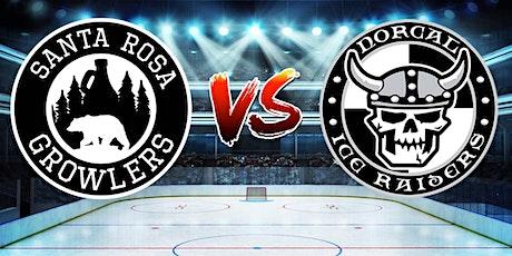 Santa Rosa Growlers vs. NorCal Ice Raiders tickets