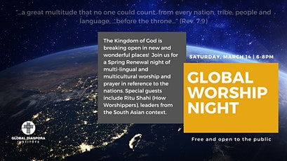 Global Worship Night tickets