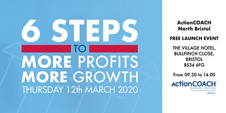 6 Steps to More Profits, More Growth | FREE Launch Event tickets