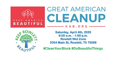 2020 Great American Cleanup - Rowlett tickets