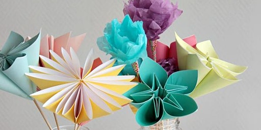 First Sunday- Paper Flowers