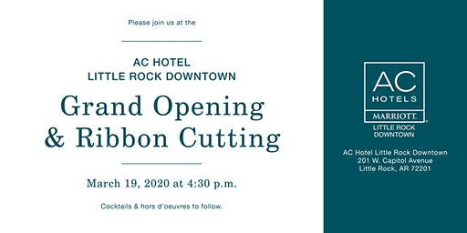AC Little Rock Downtown Grand Opening