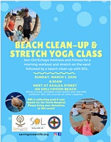 BEACH CLEAN-UP AND FREE STRETCH YOGA CLASS