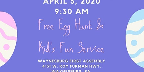 Egg Hunt & Kid's Service tickets