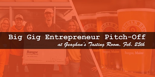 Big Gig Pitch-Off at Geaghan's Tasting Room