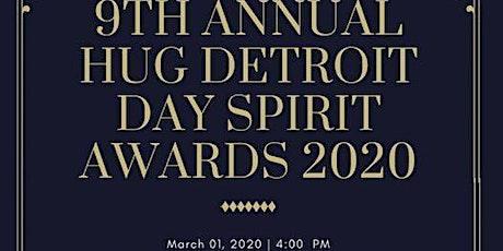 The Hug Detroit Day Spirit Awards 2020 tickets