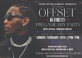 Offset's Official All Star Day Party