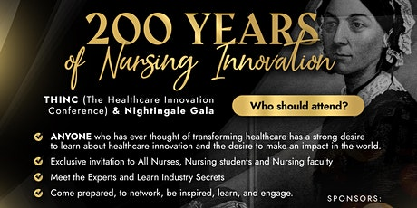 THINC Conference & Nightingale Celebration Celebrating 200 years of Nursing tickets