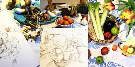 Still Life Drawing Workshop in Artists Studio tickets