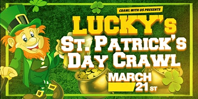 Lucky's St. Patrick's Day Crawl - Pittsburgh