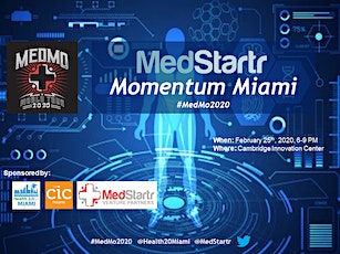 MedMo Miami: Healthcare Innovation Pitch Competition tickets