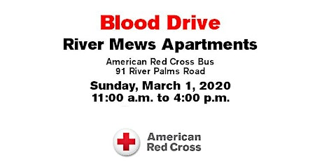 Blood Drive Event! tickets