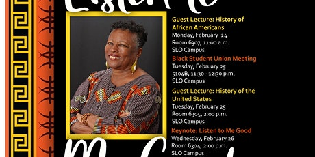 Black History Month - Cuesta College tickets